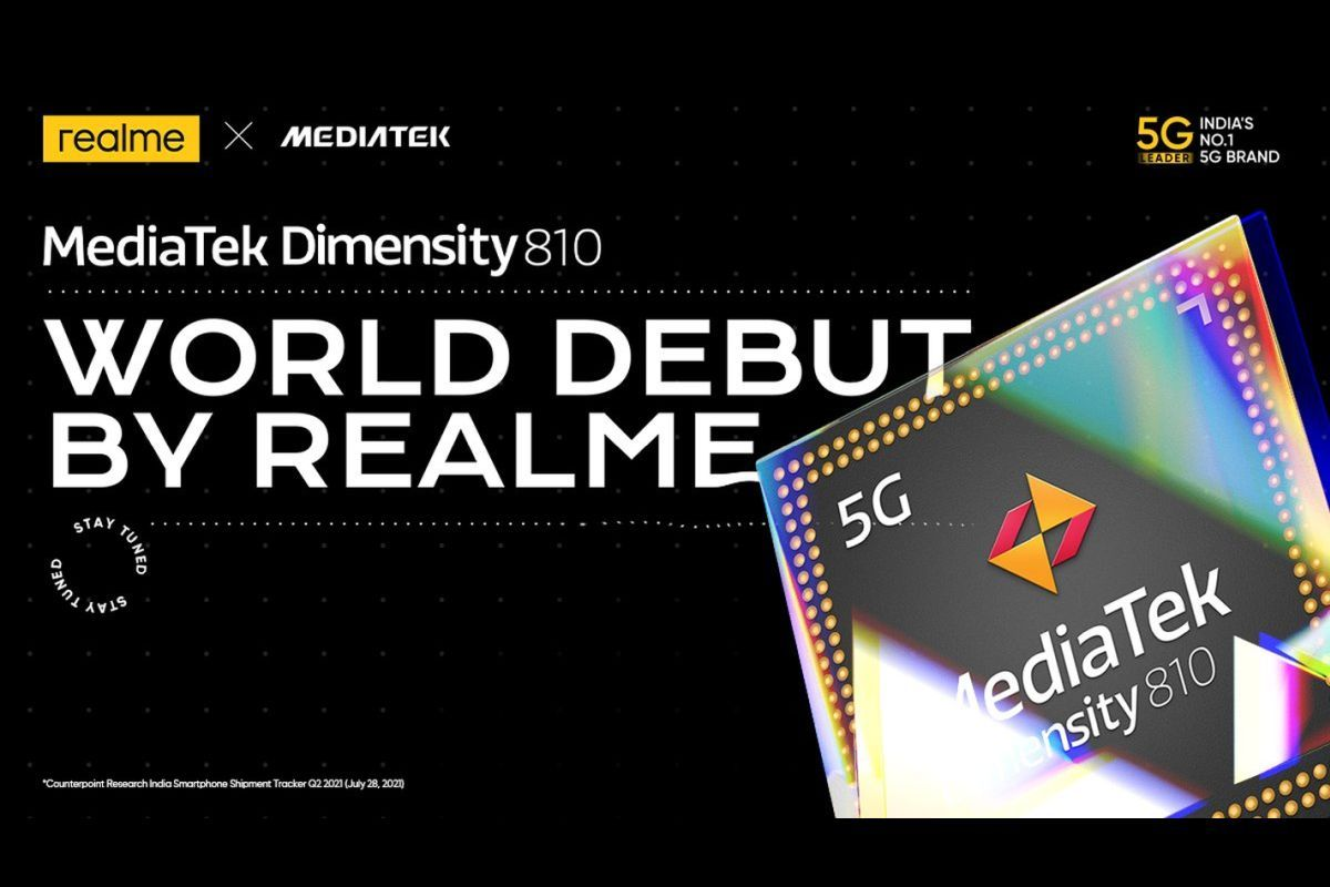 Realme to launch Dimensity 810 phone