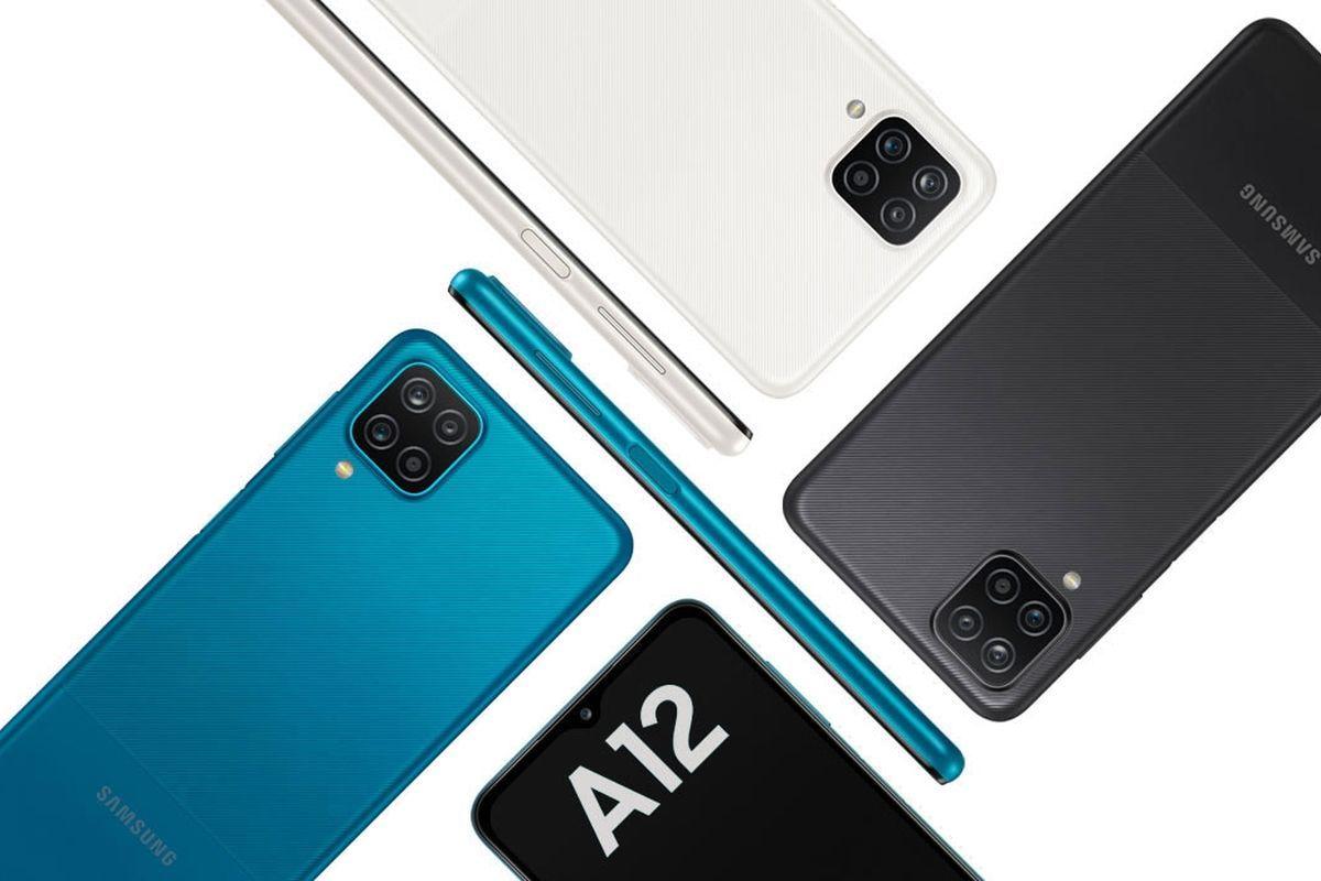 Samsung Galaxy A12 with Exynos 850-
