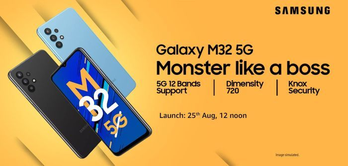 Samsung Galaxy M32 5G launch date for India-