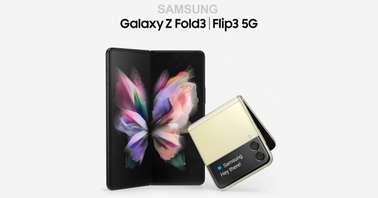 Samsung Galaxy Z Fold 3, Flip 3