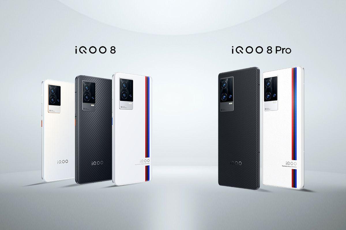 iQOO 8 and iQOO 8 Pro