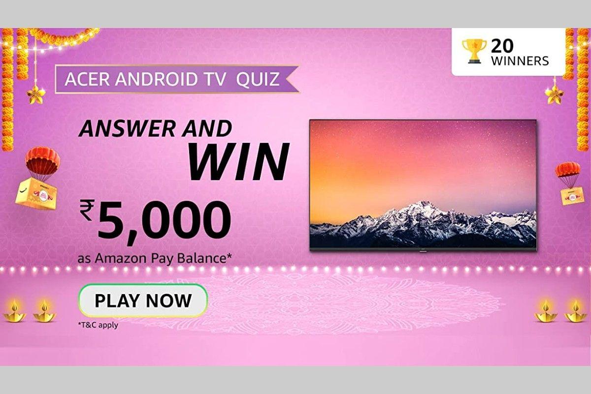 Amazon Acer Android TV Quiz