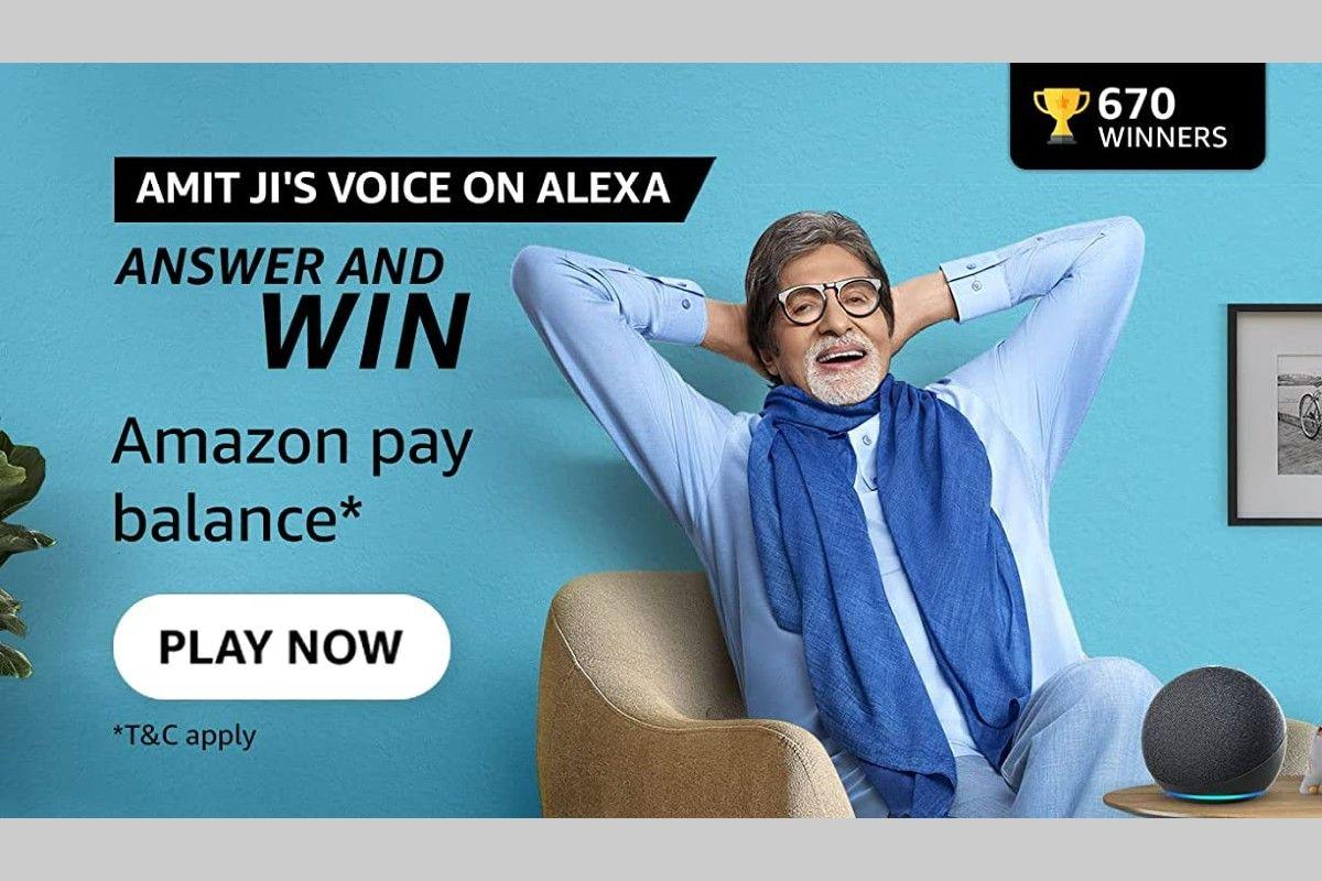 Amazon Alexa Quiz (Amit ji's voice on Alexa)