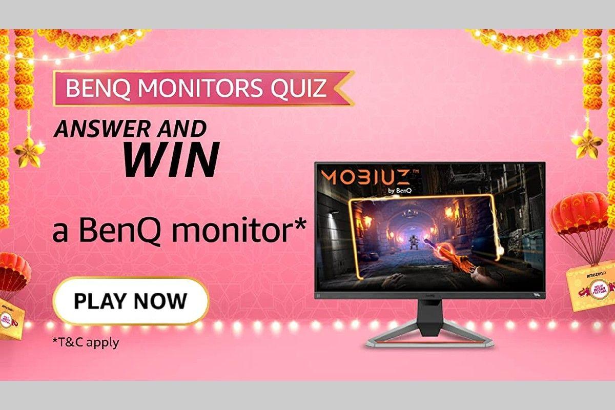 Amazon BenQ Monitors Quiz