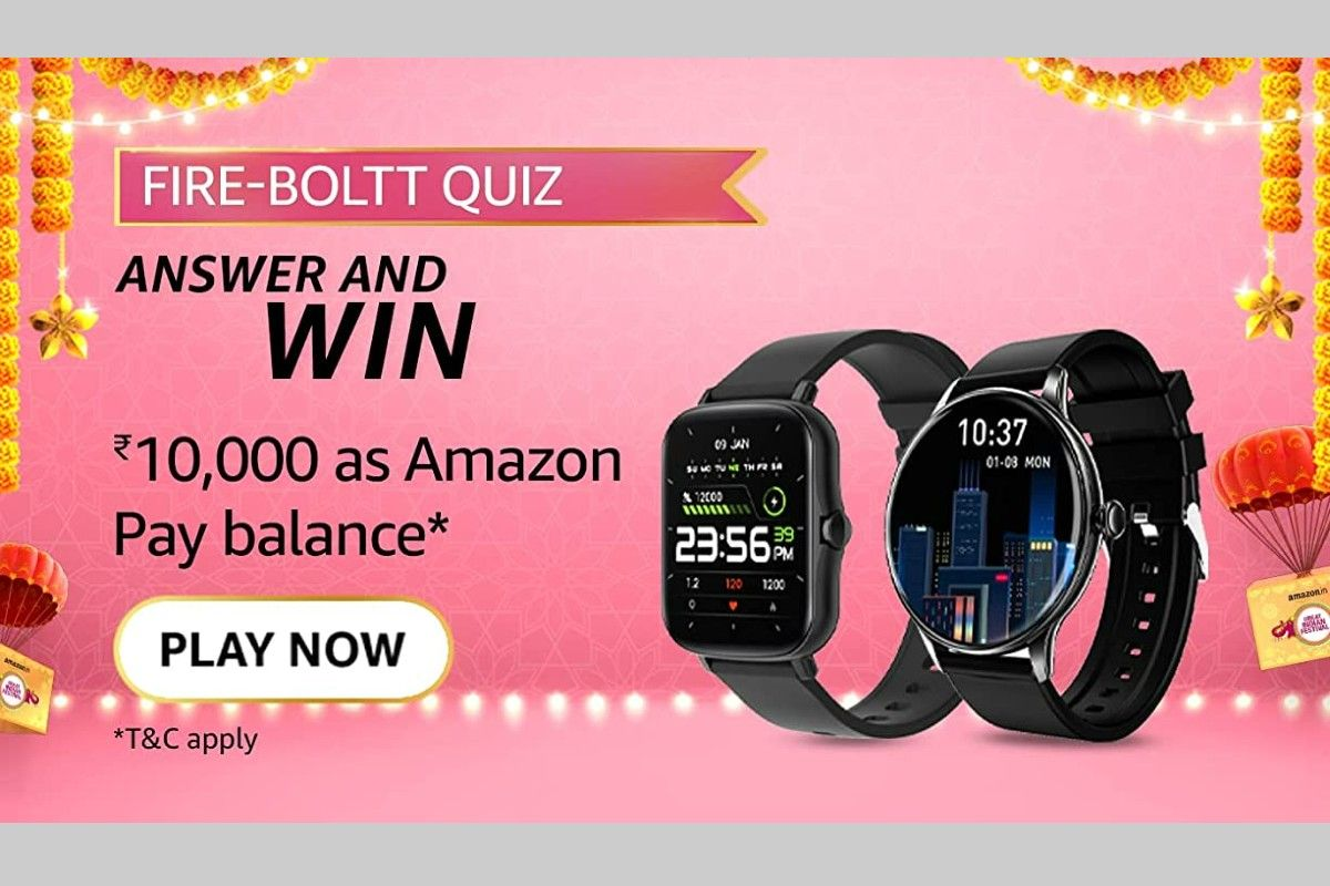 Amazon Fire-Boltt Quiz