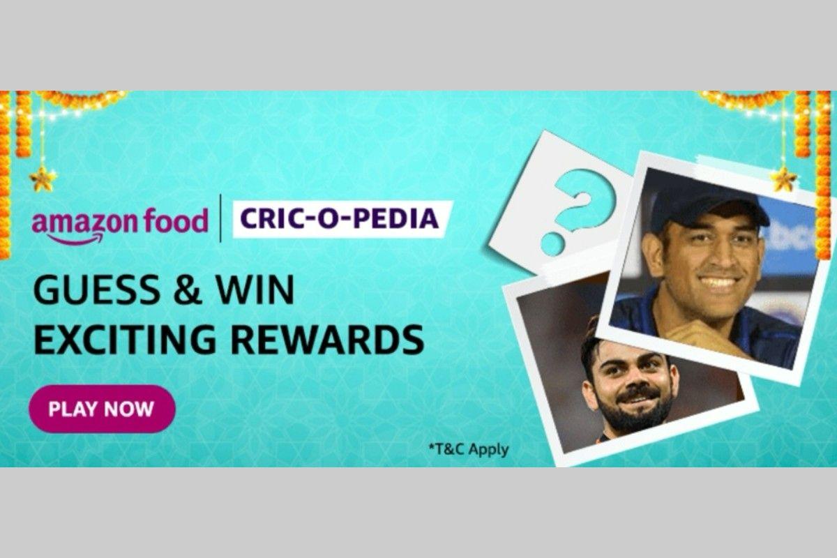 Amazon Food Cric-o Pedia Quiz