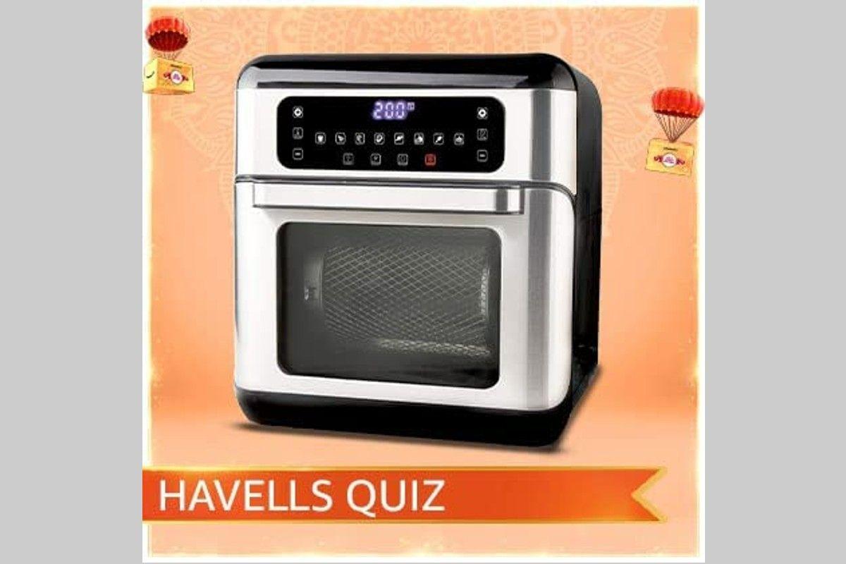 Amazon Havells Air Oven Quiz