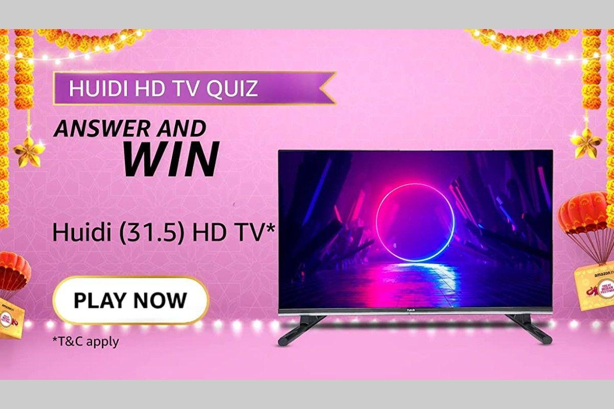Amazon Huidi HD TV Quiz