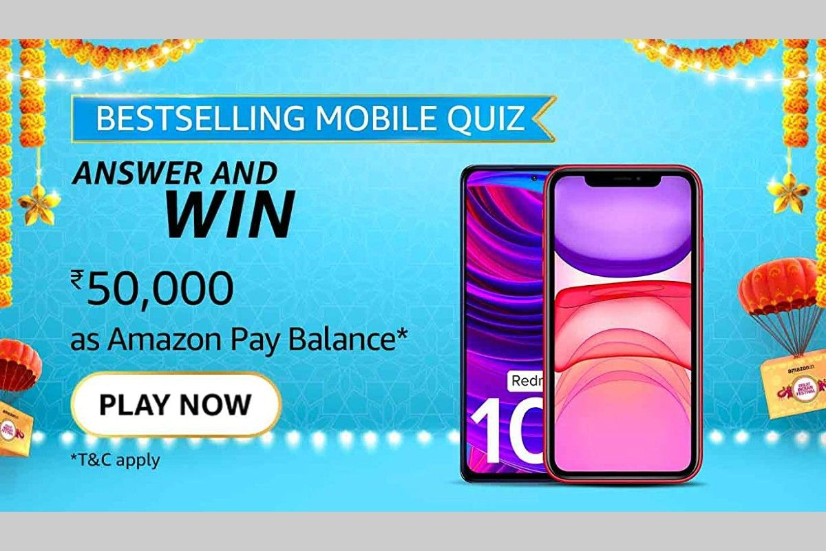 Amazon India's Bestselling Mobile Quiz