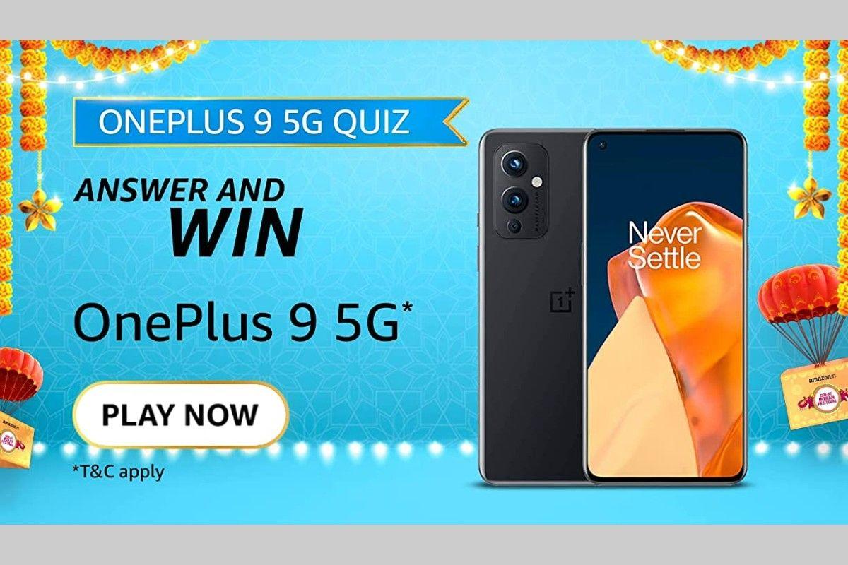 Amazon OnePlus 9 5G Quiz