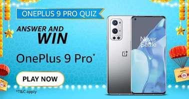 Amazon OnePlus 9 Pro 5G Quiz