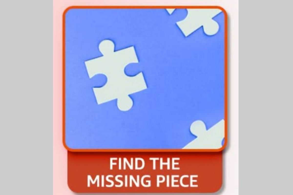 Amazon Puzzle Find the Missing Piece Quiz: