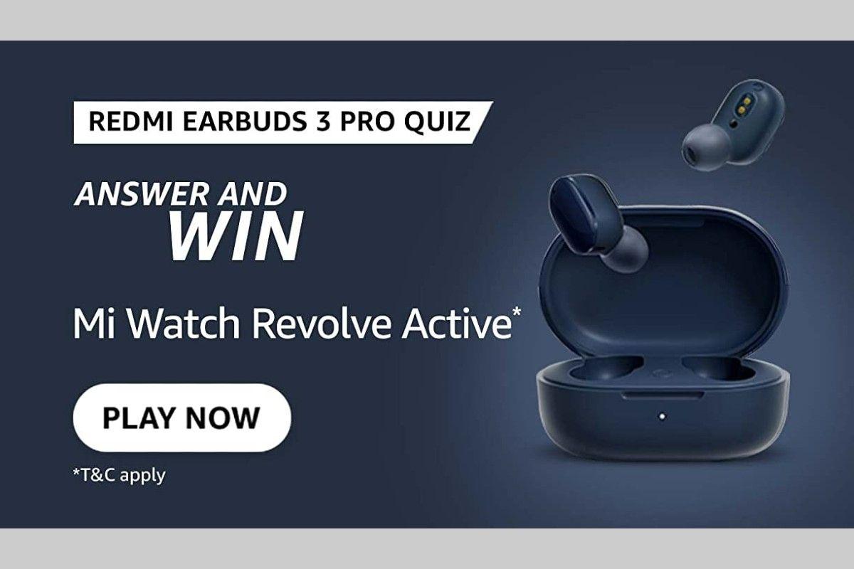 Amazon Redmi Earbuds 3 Pro Quiz