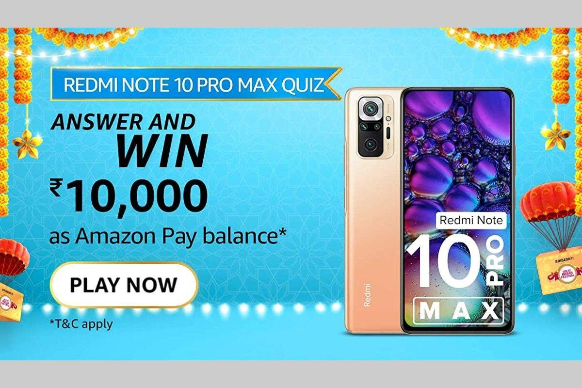 Amazon Redmi Note 10 Pro Max Quiz