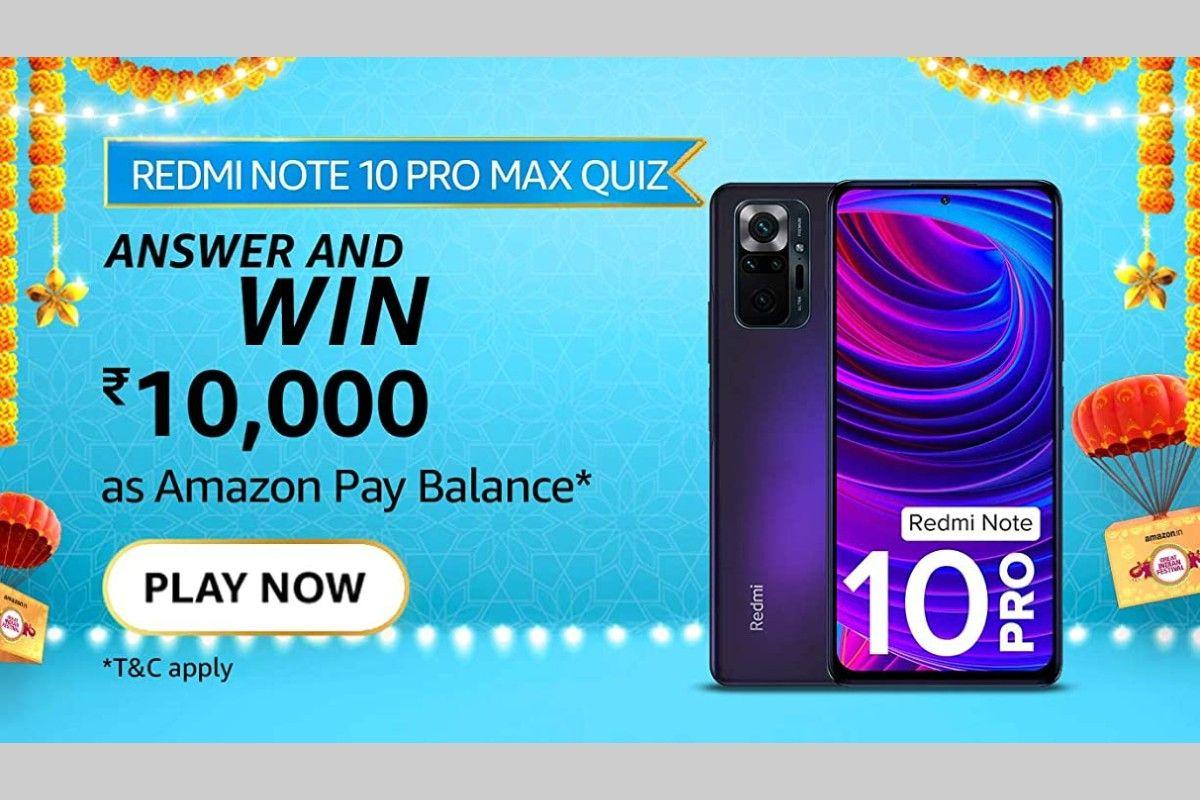Amazon Redmi Note 10 Pro (Max) Quiz
