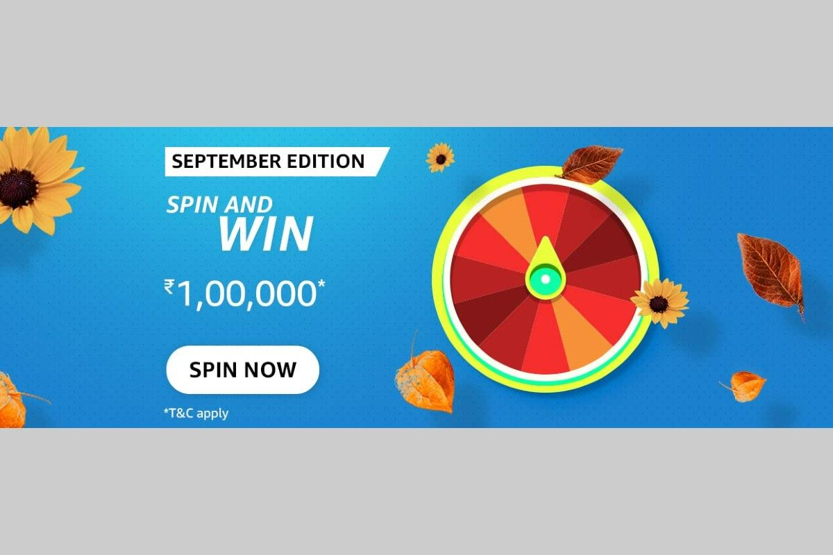 Amazon September Edition Spin and Win Quiz