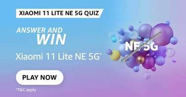 Amazon Xiaomi 11 Lite NE 5G Quiz