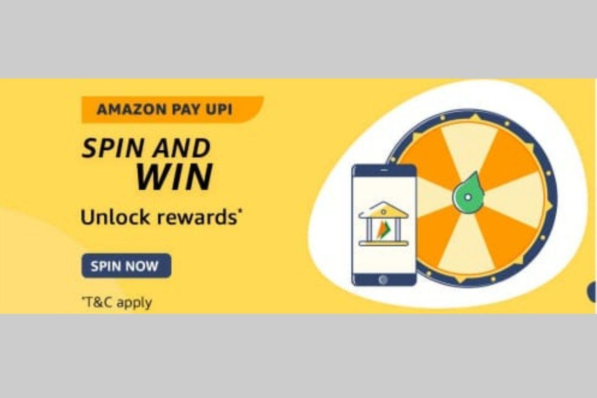 Amazon Pay UPI Spin and Win