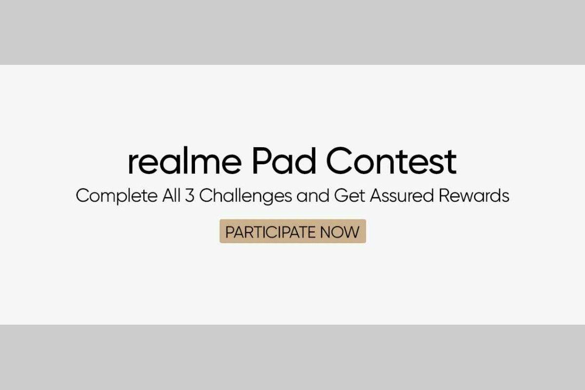Flipkart Realme Pad contest