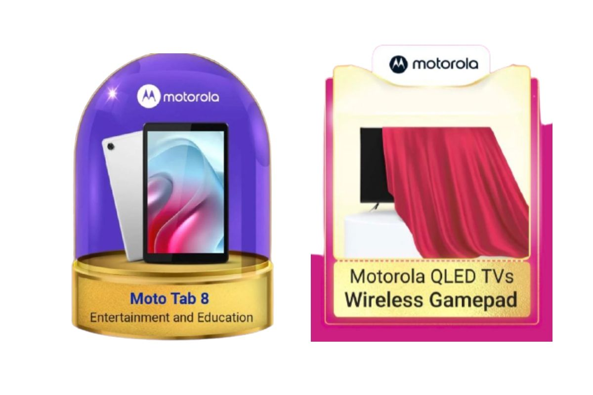 MotoTab 8 and Motorola QLED TVs