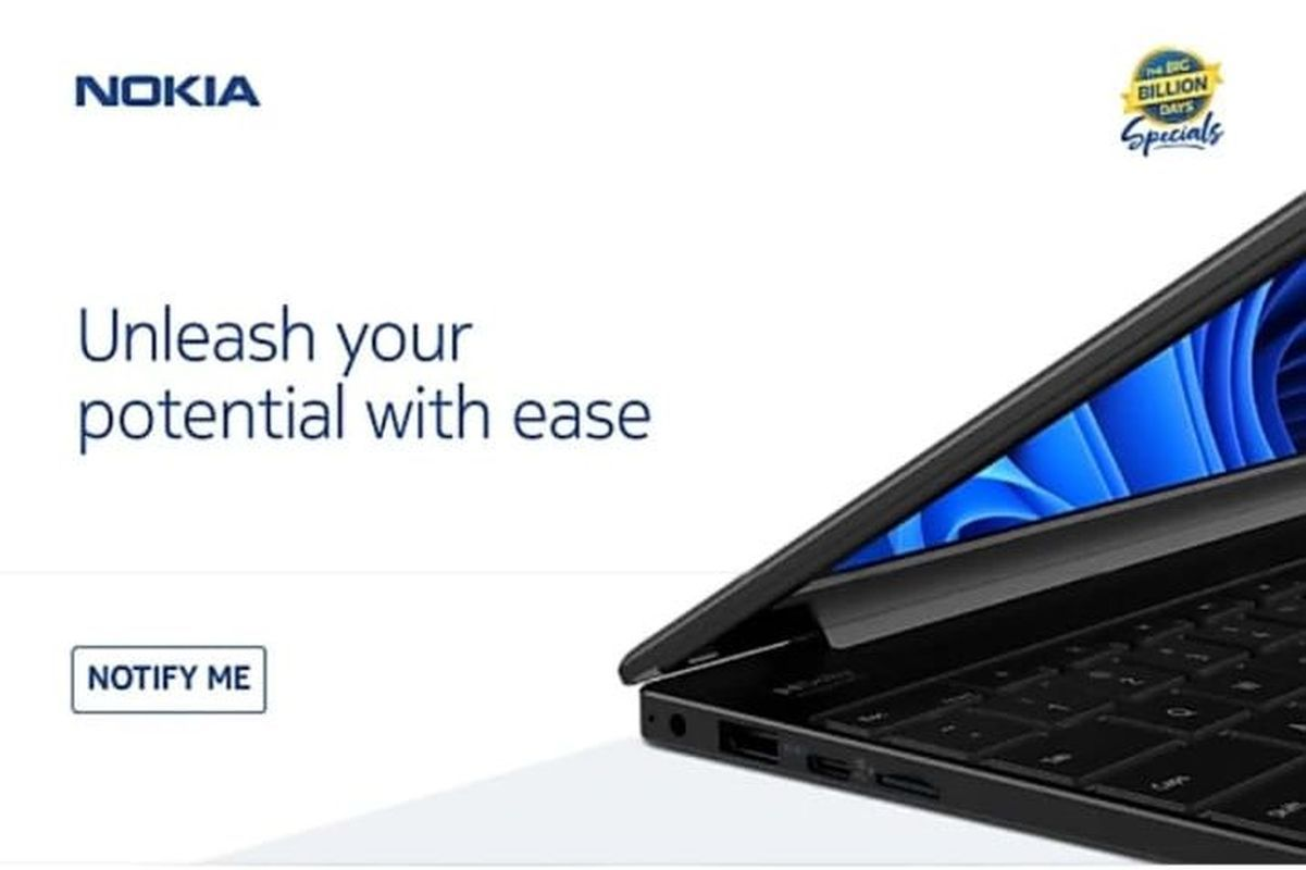 Nokia's new laptop will feature a camera shutter for privacy