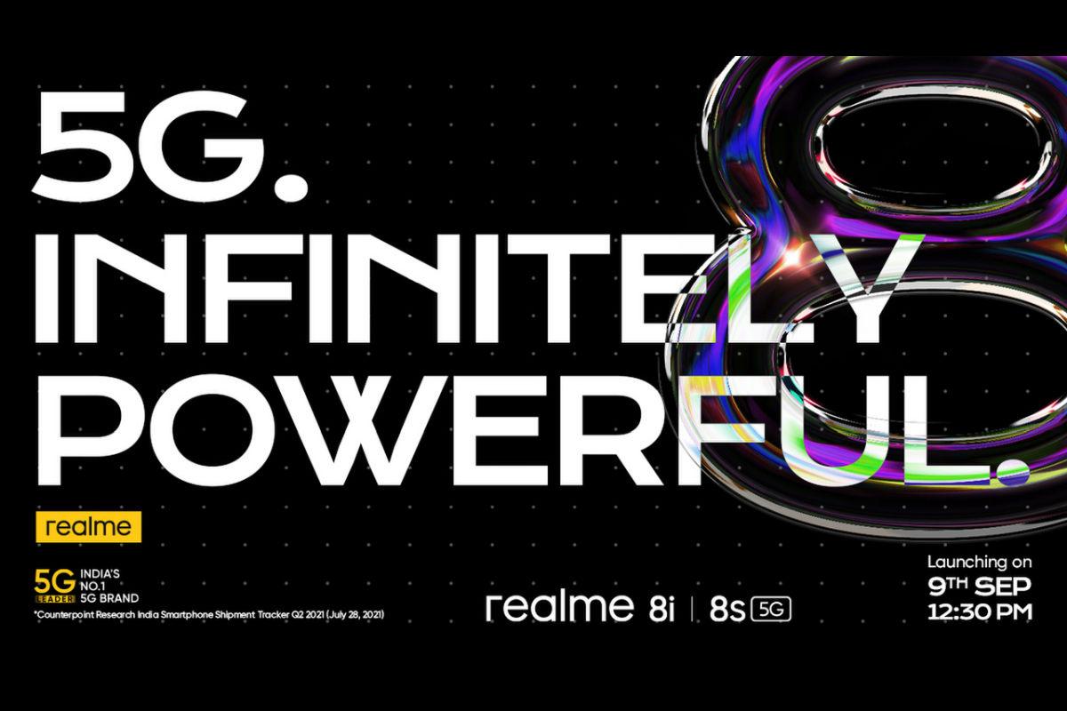 Realme 8s, Realme 8i India launch date-