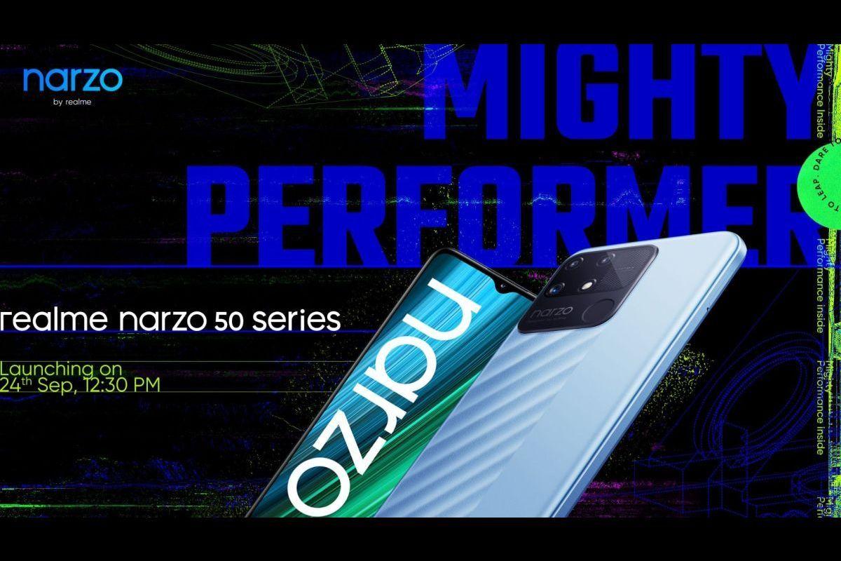 Realme Narzo 50 series launch date-