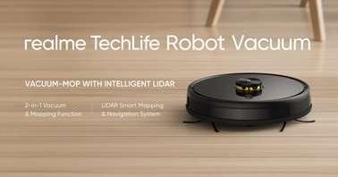 Realme TechLife robot vacuum