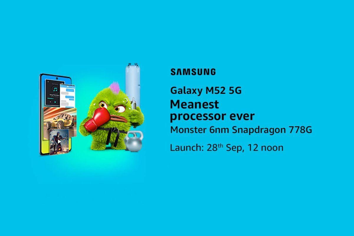 Samsung Galaxy M52 5G Snapdragon 778G-