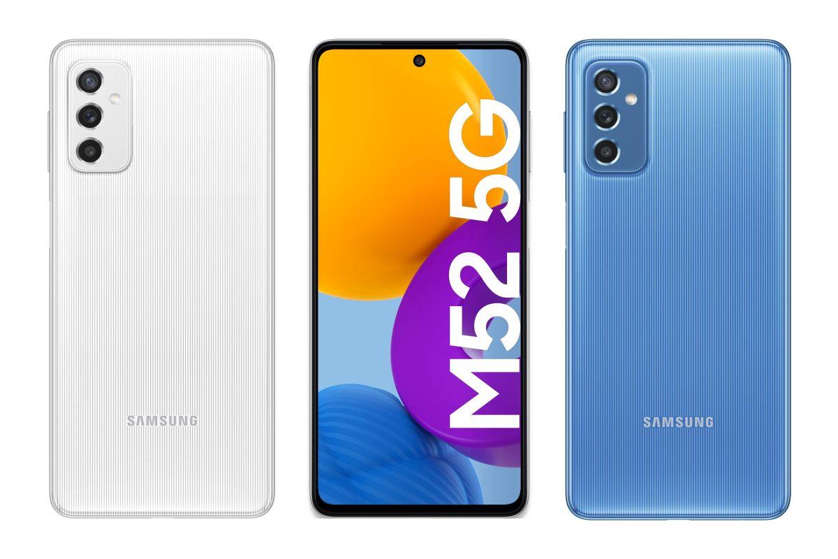Samsung Galaxy M52 5G leaked renders