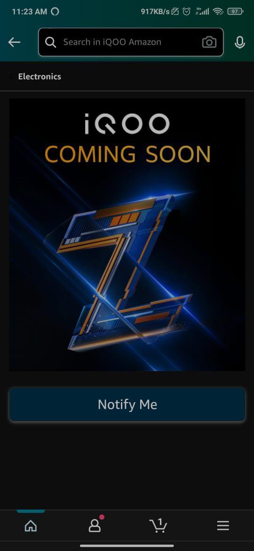 iQOO Z5 Amazon