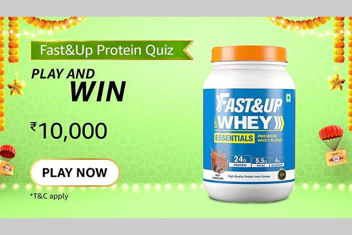 Amazon Fast&Up Protein Quiz