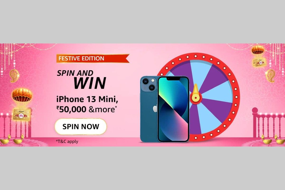 Amazon Festive Edition Spin and Win Quiz answers