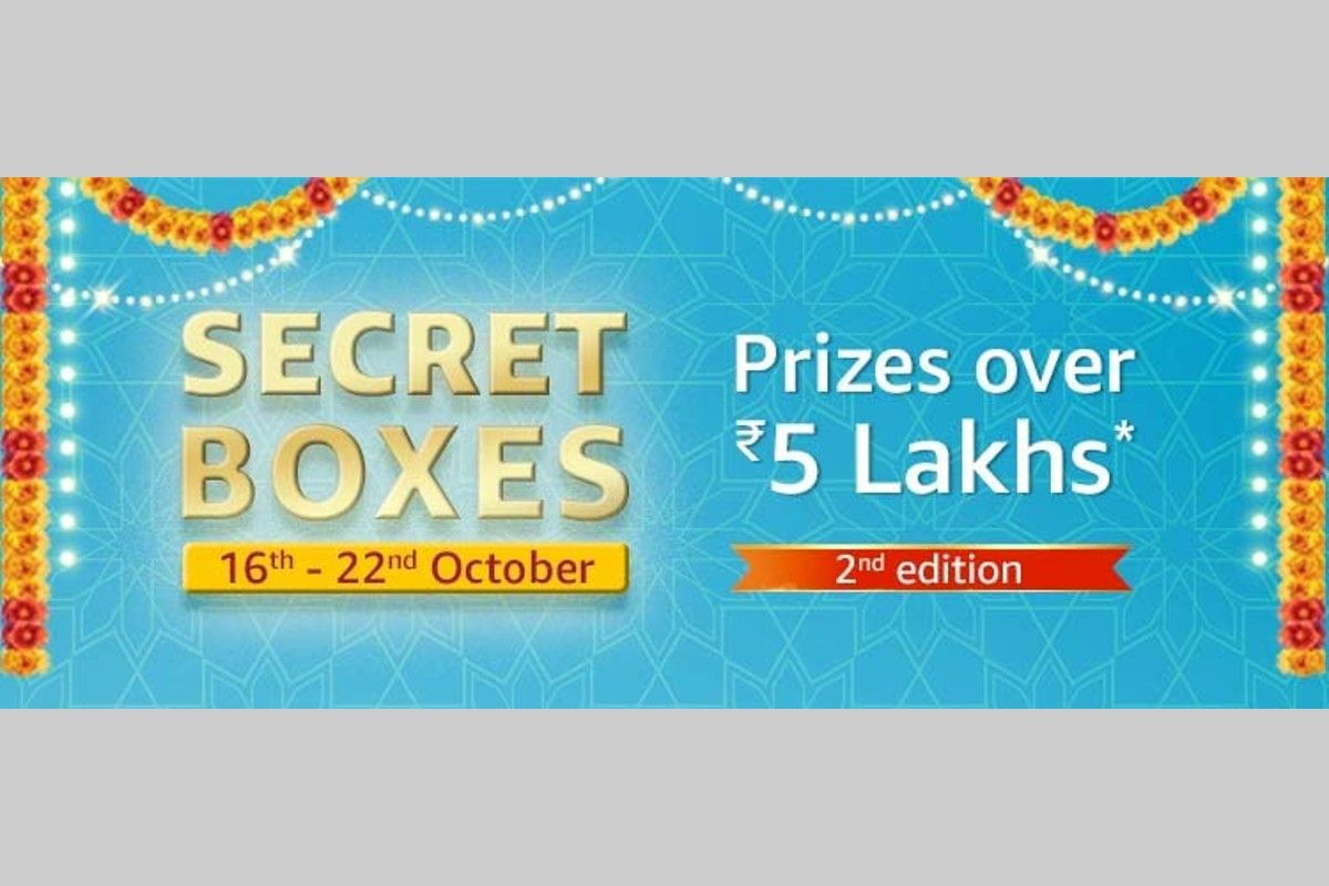 Amazon Great Indian Festival Secret Boxes Quiz (2nd edition)