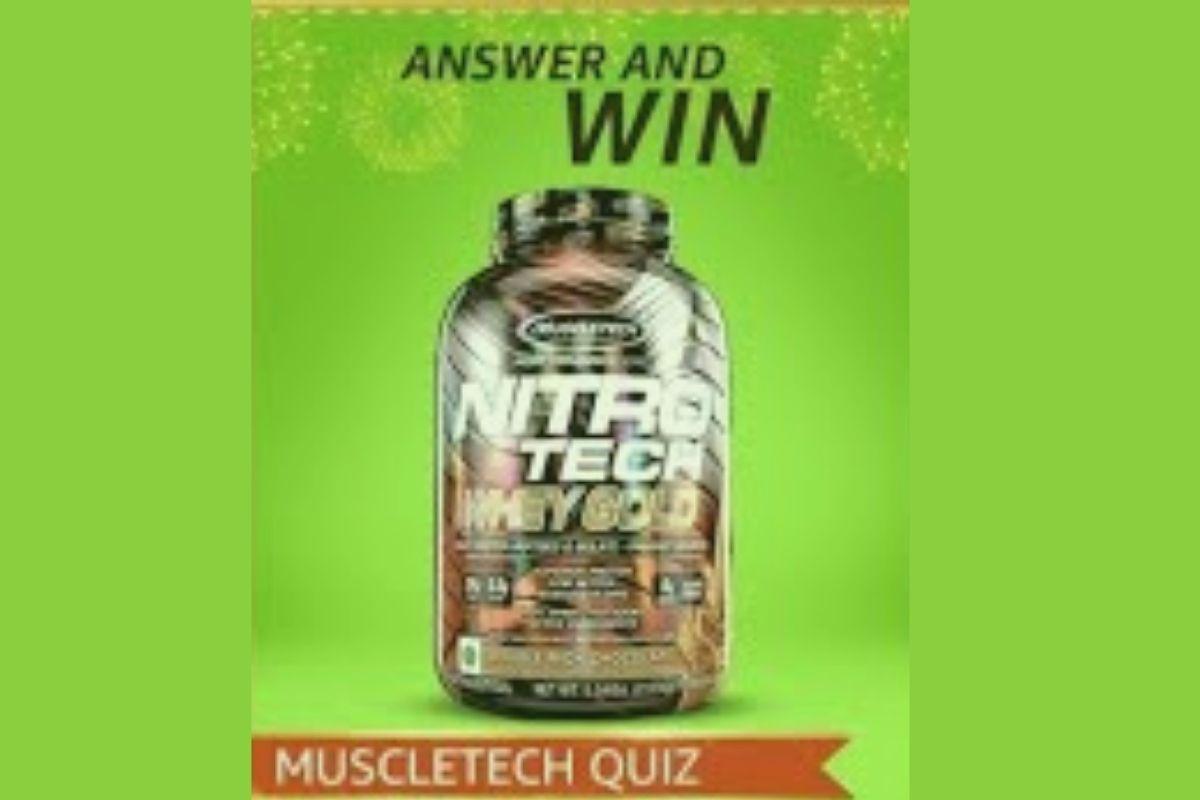 Amazon MuscleTech Quiz