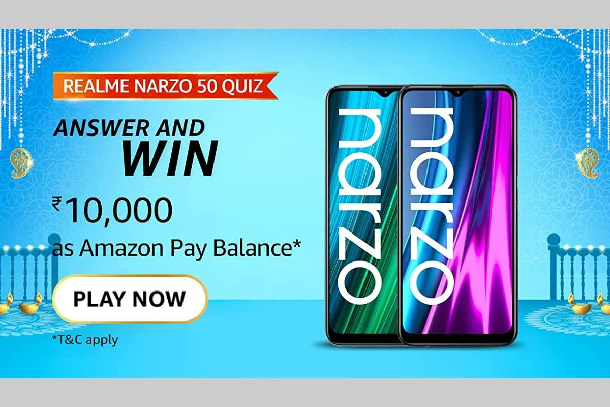 Amazon Realme Narzo 50 Series Quiz