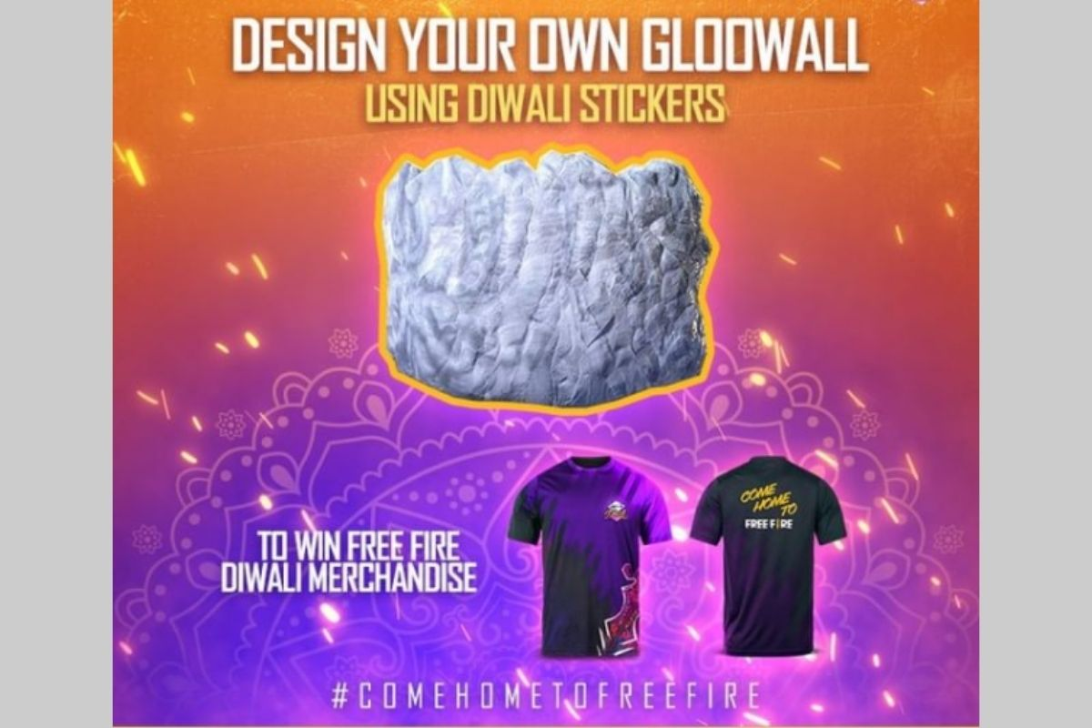 Free Fire Design your own Gloowall event