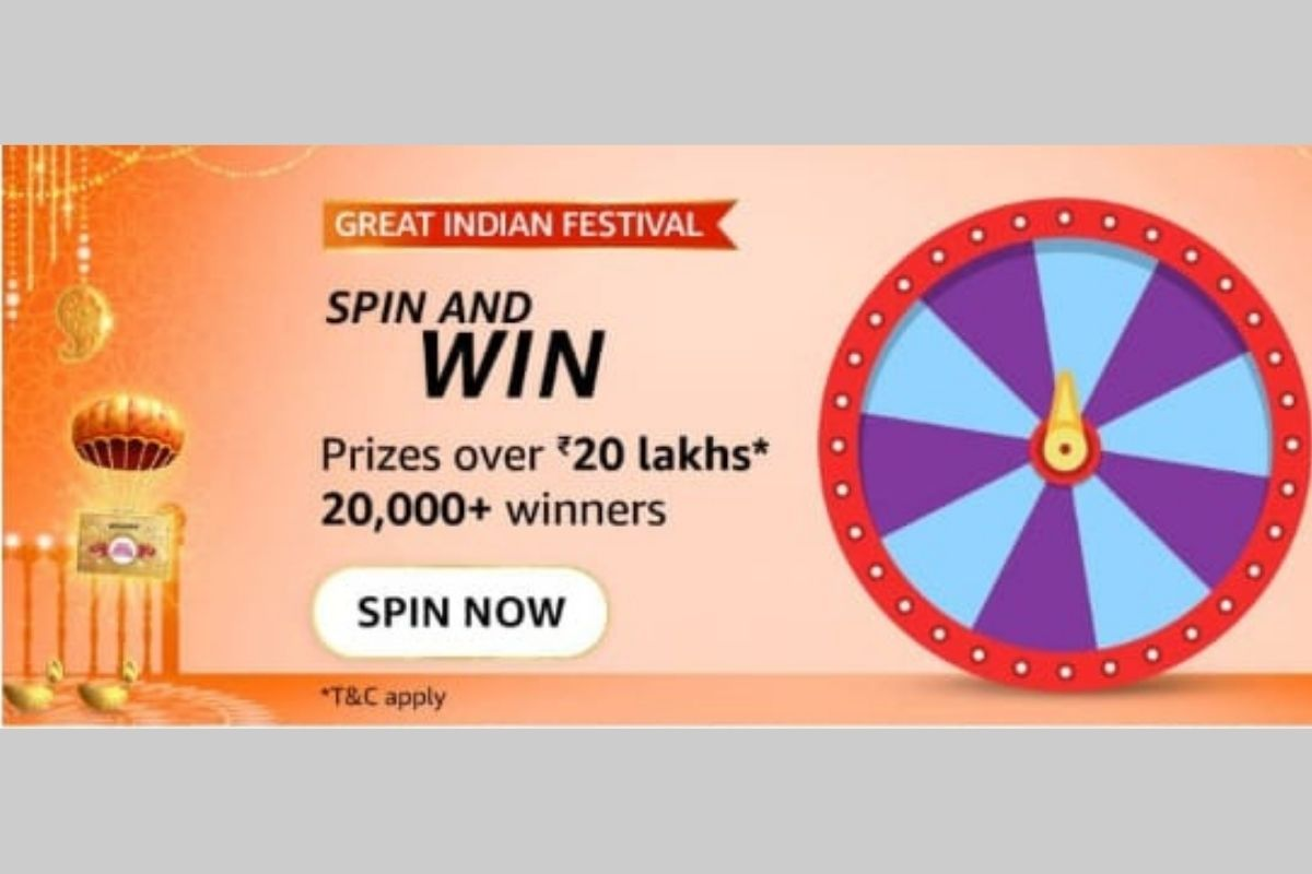 Great Indian Festival Spin and Win