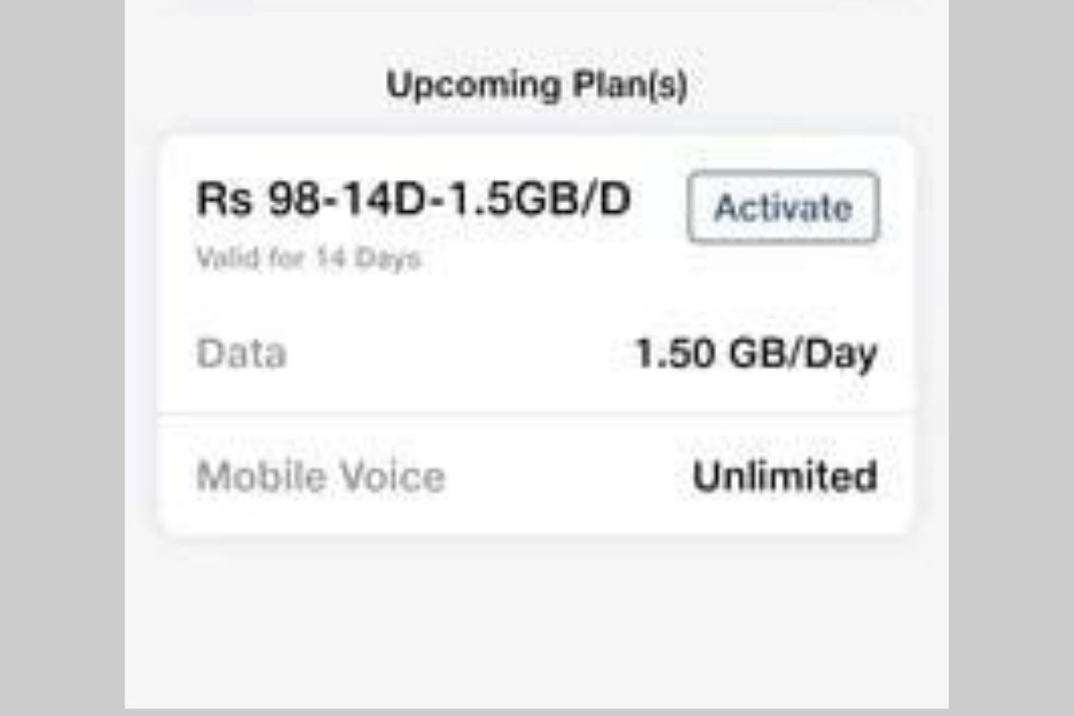 Jio 98 recharge offer