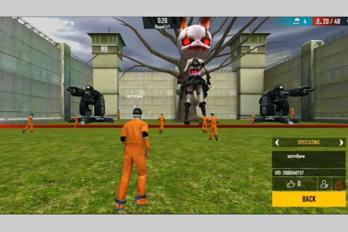 Netflix Squid Games X Garena Free Fire