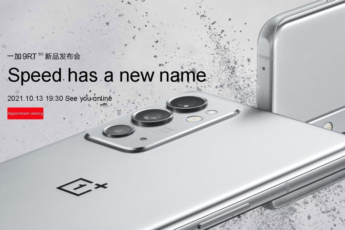 OnePlus 9RT overview: how to watch live stream, launch date, expected price, specs and more