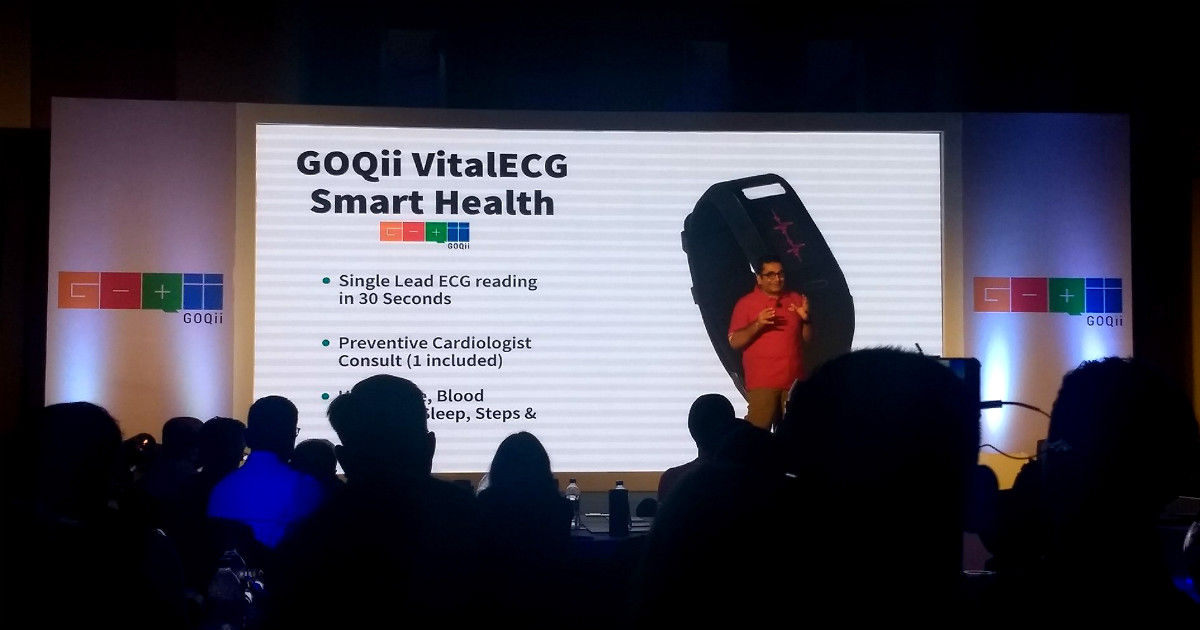 GOQii launches VitalECG, VitalGluco and RunGPS smart health products in India